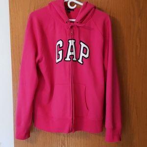 Gap zippered hoodie